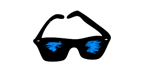 Sunglasses VBlue_blog image