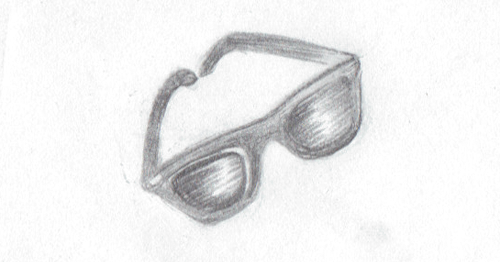 Sunglasses Pencil_blog image