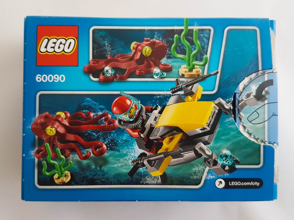LEGO City Box  back 60090