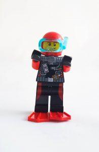 LEGO City Minifigure Scuba Diver