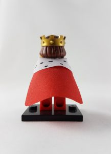 Minifigure - King - back
