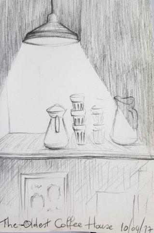 The Oldest Coffee House sketch image