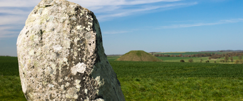 Stone  - West Kennett Long Barrow photo