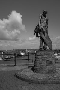 The Ancient Mariner B+W image