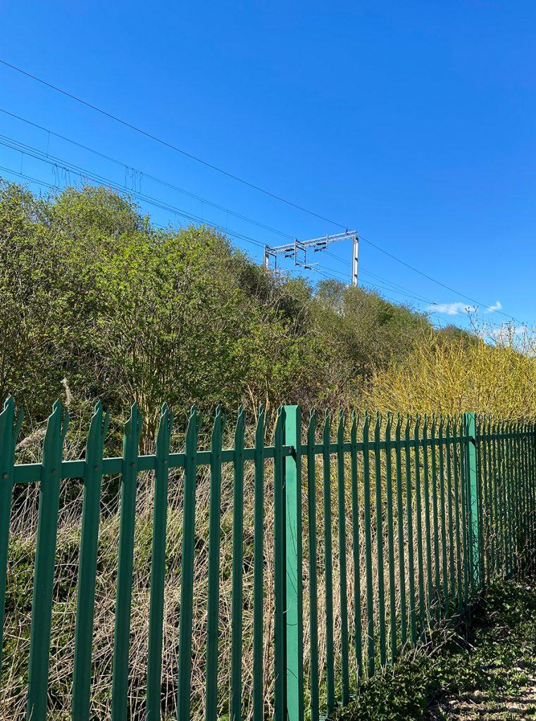 murpworks - murpworkschrome - Update - Reset - Begin Again - Railway Fence image