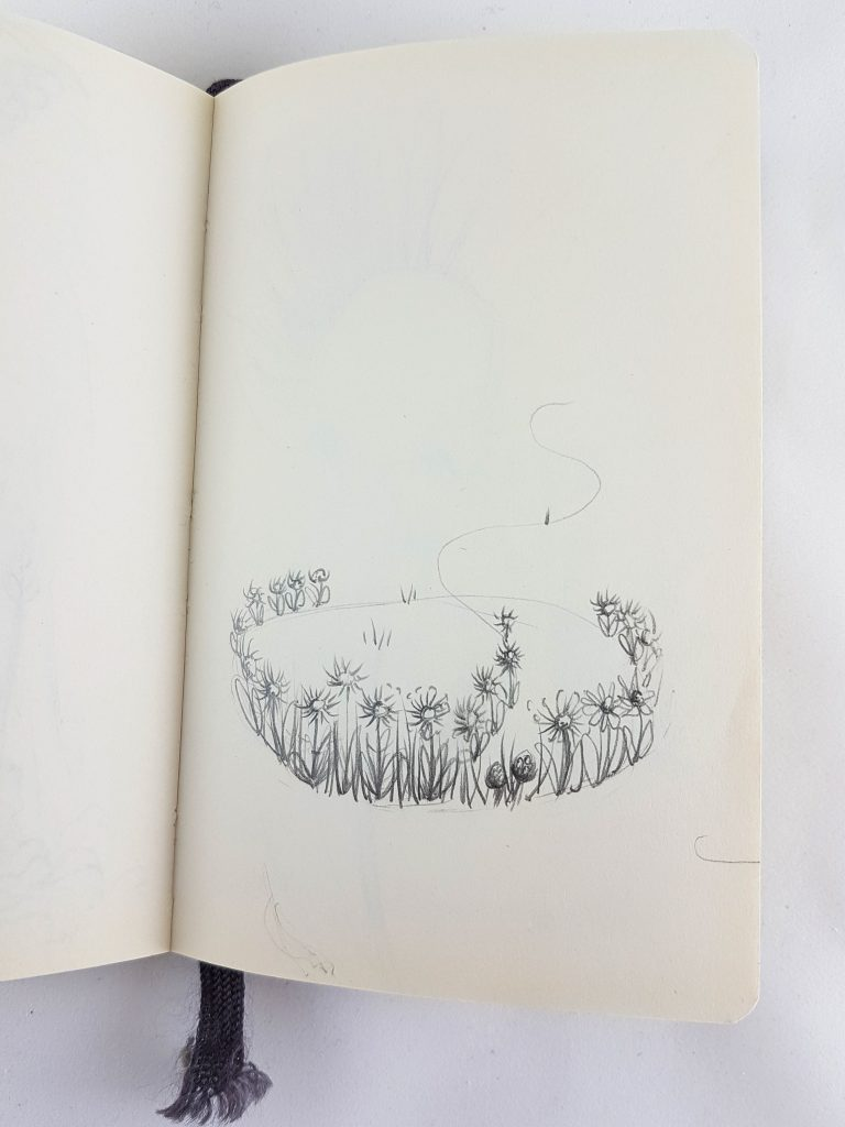 Flower Ring sketchbook image