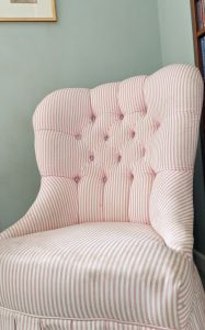 Upholstery Class - Slipper Chair III