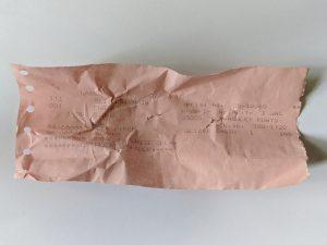 Upholstery Class - Slipper Chair - receipt image