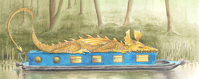 Dragonboat - Here be dragons