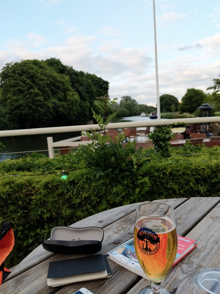 The Long Journey Home - Part 15 - Next Stop, The Thames - An End to the Day