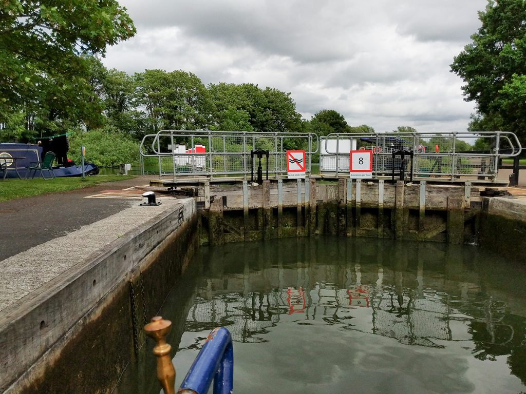 The Long Journey Home - Part 15 - Next Stop, The Thames - Big Lock!