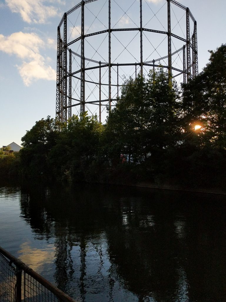 The Long Journey Home - Part 16 - Aceing The Thames - murpworks Evening Scene on the Thames/Kennet junction image