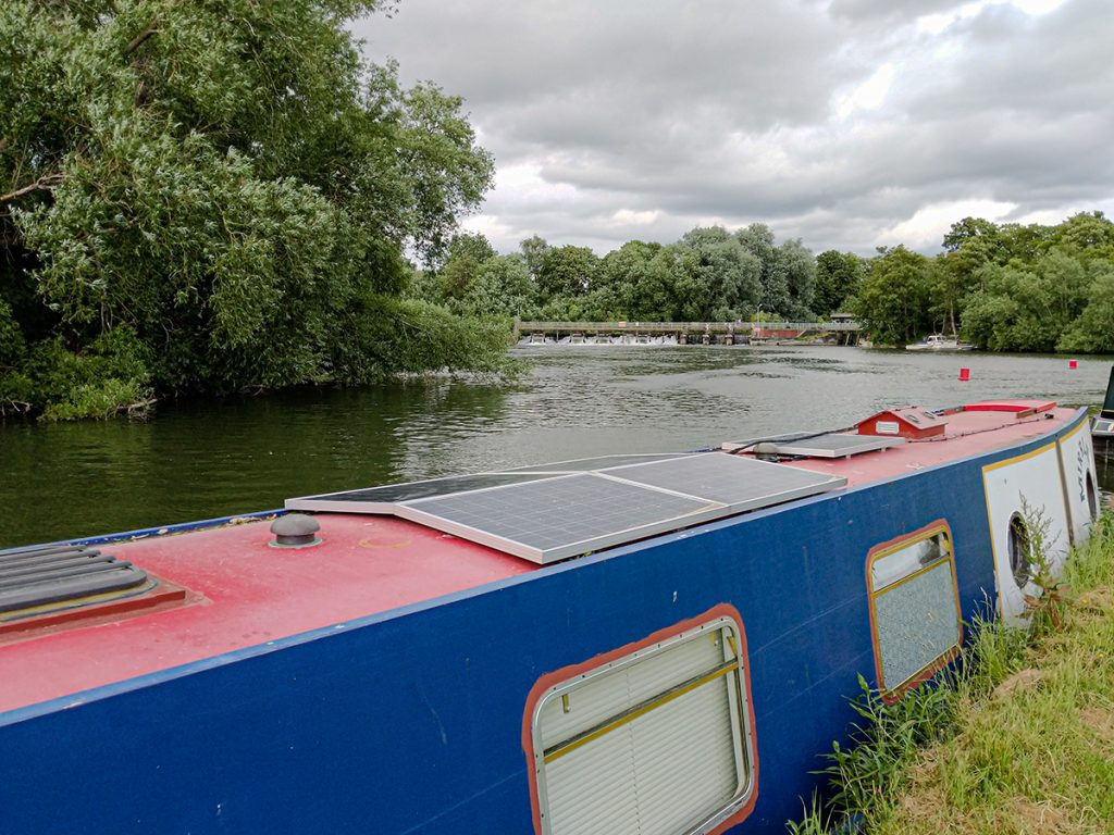 The Long Journey Home - Part 15 - Next Stop, The Thames - MIRRLESS Moored at Abingdon