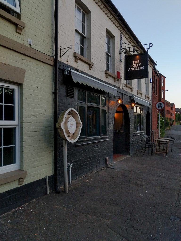 The Long Journey Home - Part 16 - Aceing The Thames - murpworks The Jolly Anglers Pub image