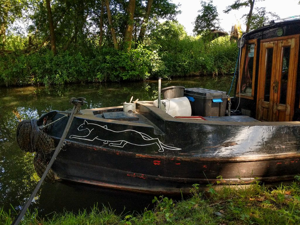 The Long Journey Home - Part 18 - An Arrival - The Balck Cat narrowboat