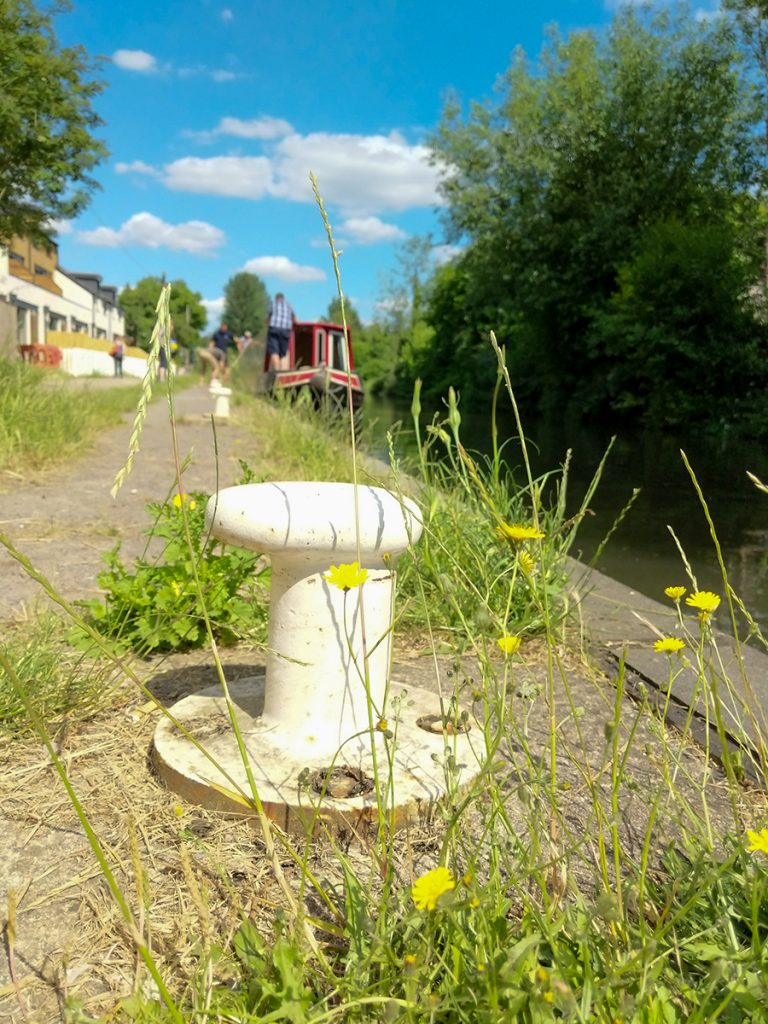 The Long Journey Home - Part 18 - An Arrival - Capstan - Aldermaston Wharf