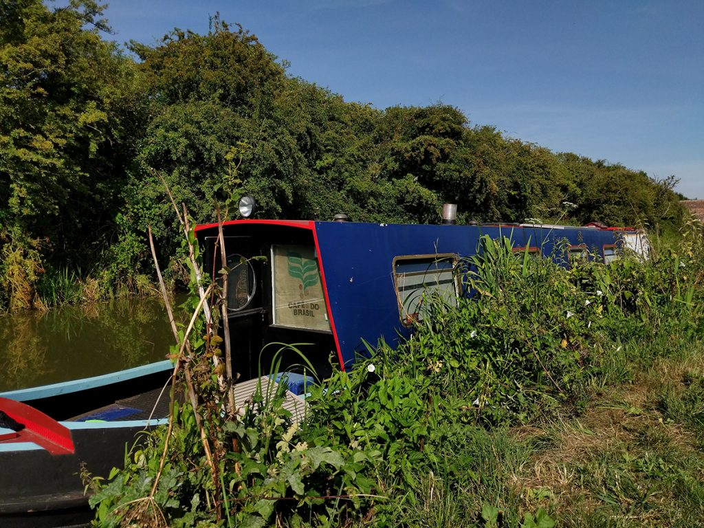 The Long Journey Home - Part 27 - a moored MIRRLESS image