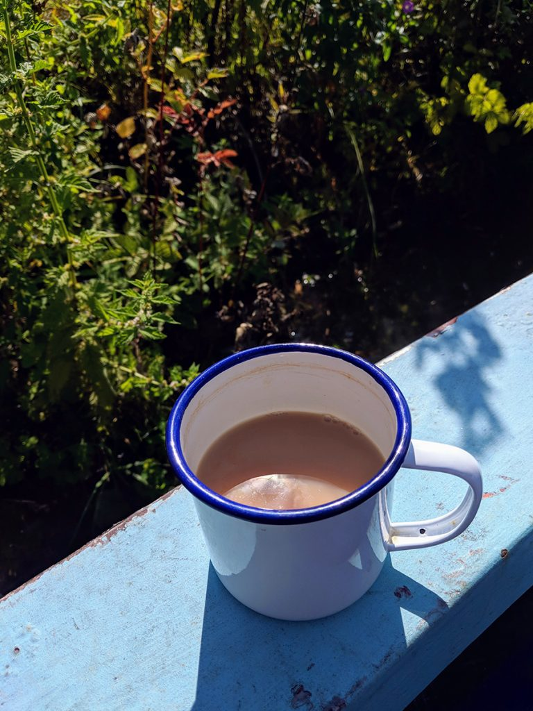 murpworks - The Long Journey Home - Part 28 - mug of tea image
